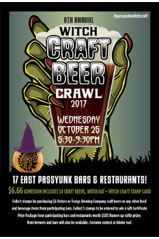 Witch Craft Beer Crawl 2017